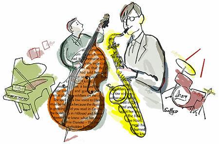 Jazz Portrait Live 音と音人と光影と サリーのアトリエ Sallys