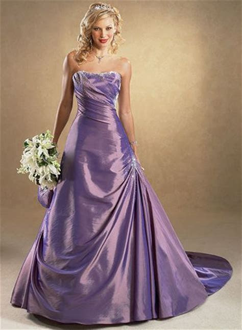 Purple and Black Wedding Dress Designs Ideas   Wedding Dress