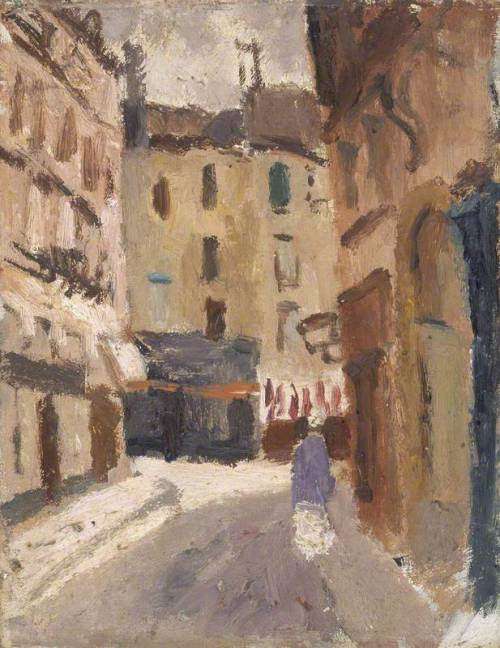 Christopher Wood - A Street in Nantes (1930)
