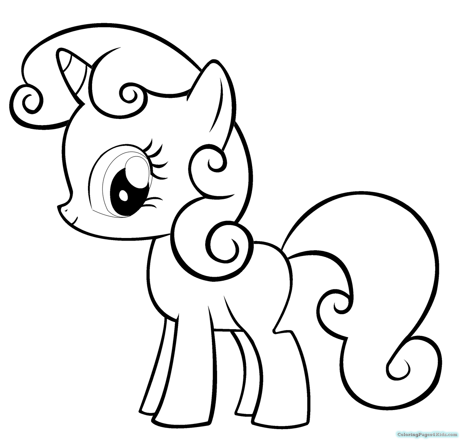 56 Apple Bloom Coloring Pages For Free