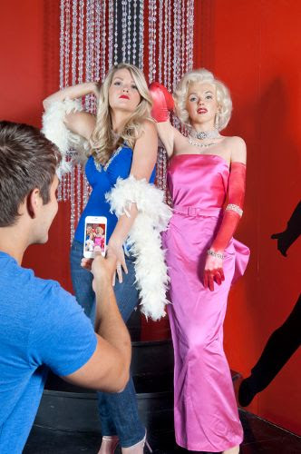 Marilyn Monroe in the Hollywood Wax Museum in Pigeon Forge