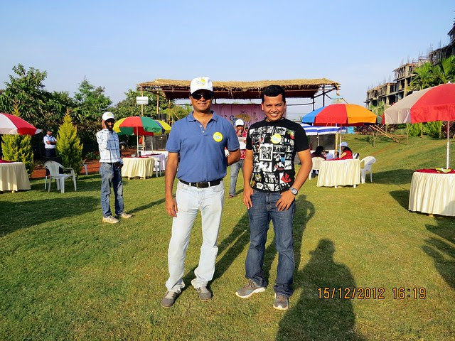 Seagull Advertising at Mont Vert Vesta, Urawade Pirangut, Goan Fiesta 15th & 16th December 2012