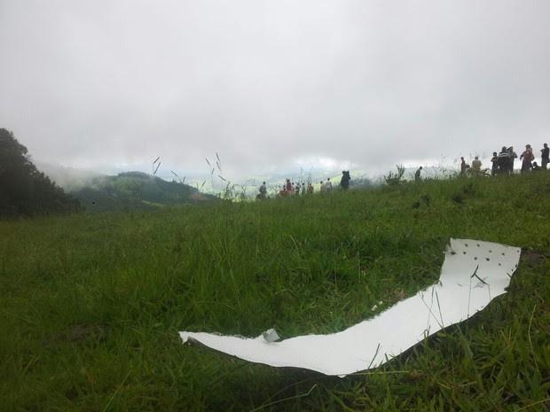 Conforme Anac, monomotor decolou de Paraty (RJ) com destino a Ribeirão Preto (SP) (Foto: Daniela Ayres / G1)