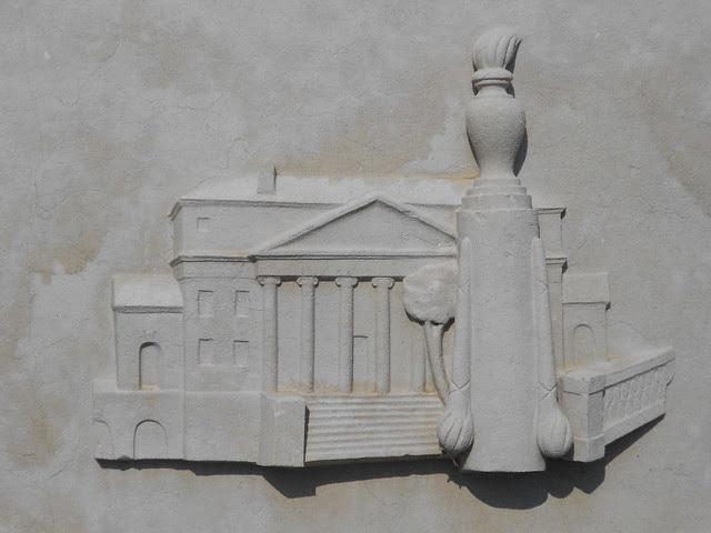fontana Virgilio Milani, stazione di Rovigo, Fratta Polesine