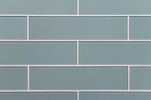 Glass Tiles Arctic Blue Series 3 X 12 Glass Subway Tile For