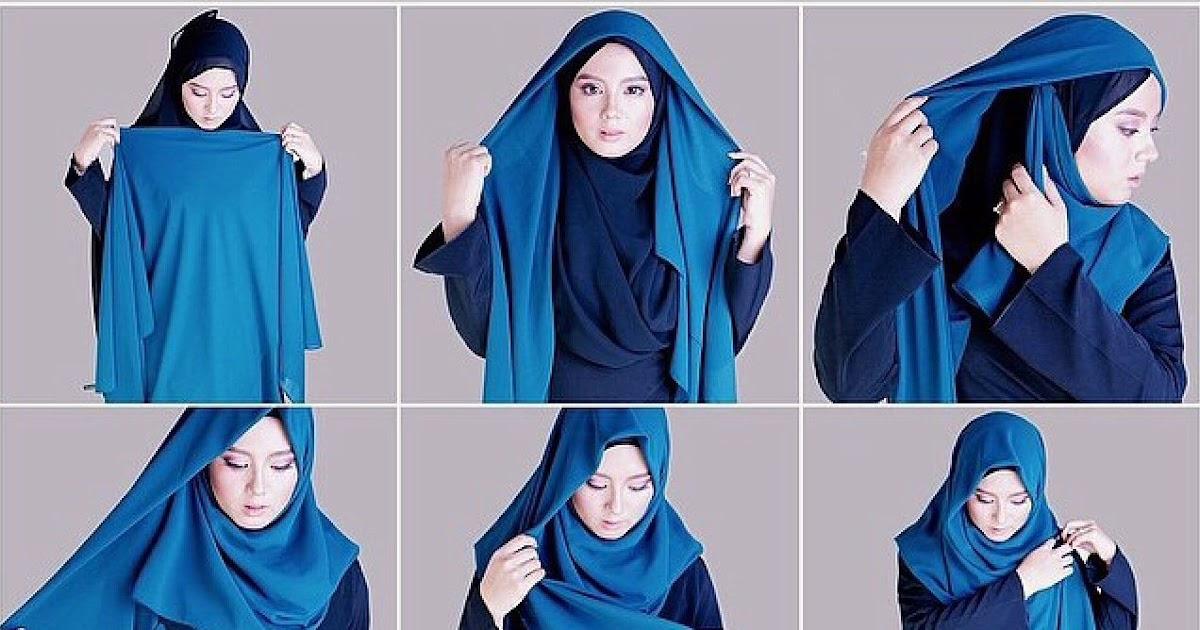 terupdate tutorial hijab segi empat syari untuk suami