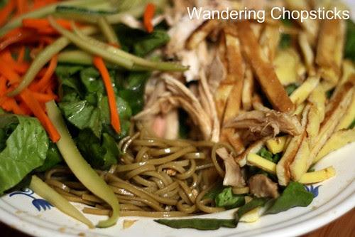 Jaengban Gooksu (Korean Cold Buckwheat Noodle Salad) 2