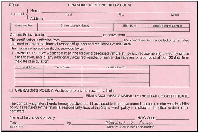 SR22 Texas Insurance