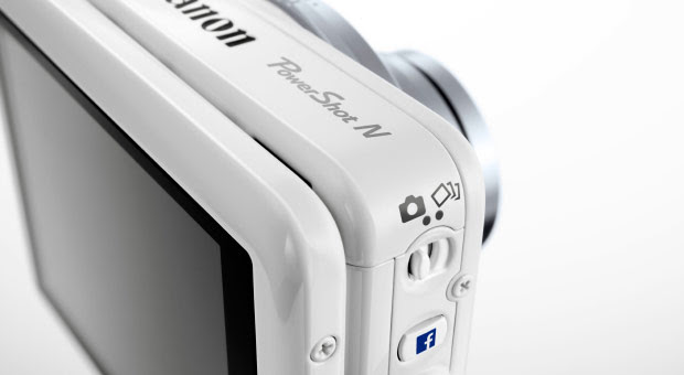 Canon appeals to internet socialites with PowerShot N Facebook pointandshoot