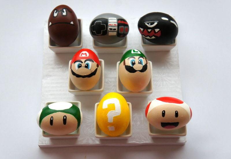 Super Mario Bros Eggs