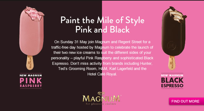 Paint the Mile of Style Pink and Black