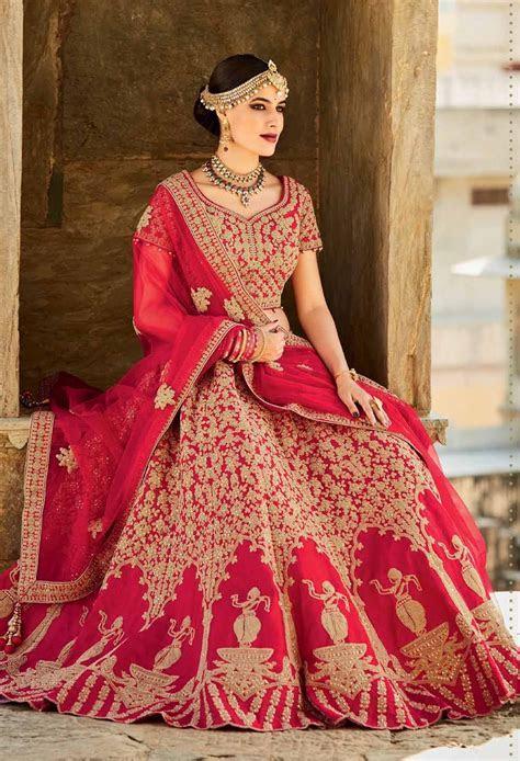 Asian Bridal Latest Wedding Lehenga Designs 2018 2019