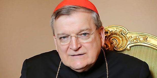 Burke recuerda que va contra la fe si alguien, incluido el Papa, dice que se puede comulgar en pecado grave