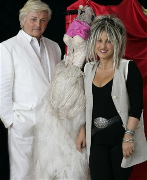 Princess Diana's wedding dress designer David Emanuel