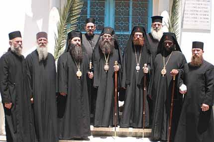 Ο Αφρικανός Παλαιοημερολογίτης μητροπολίτης Κένυας Ματθαίος, που φέρει το όνομα του Αγίου Ομολογητού επισκόπου Βρεσθένης Ματθαίου του Μυροβλήτη, ηγούμενου του άντρου βασανιστηρίων της Μονής Κερατέας και τ. ιδιοκτήτη πορνείου. http://www.churchgoc.org/pnoi/182/0.html