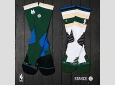 Exclusive First Look: Stance Unveils Milwaukee Bucks