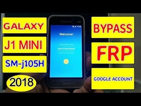 Samsung J1 Mini J105F J105H Frp Lock Google Account Bypass