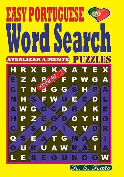 Pdf U0026quot  Easy Portuguese Word Search Puzzles  Vol  2