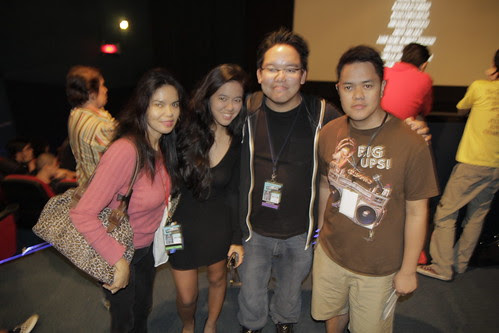 With Sheron Deyoc and actresses  Maria Isabel Lopez and Mara Isabella Lopez Yokohama (they're mother and daughter
