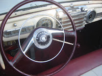 48 Lincoln Dash with touch-sensitive chrome horn ring
