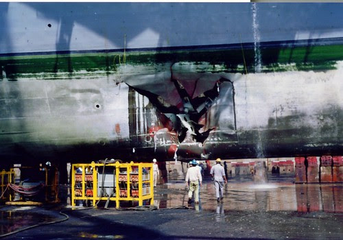 Uss Tripoli This Is What Happens When You Run Over A