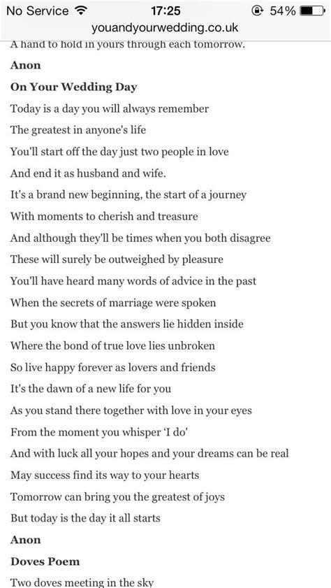 Perfect wedding poem   Wedding   Wedding ceremony readings