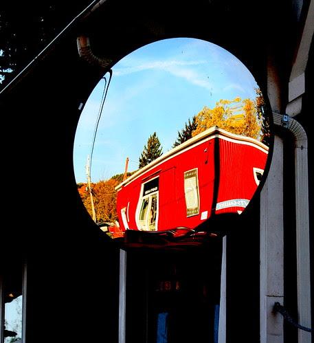 A mirror-ed view!