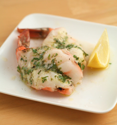 Garlic Butter Butterflied Shrimp