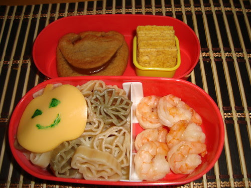 Harvest Pasta and Shrimp 10-28 by Rina Ameriasianbento