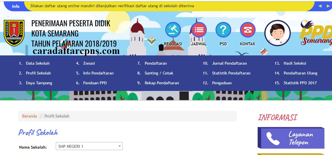 Jadwal dan Syarat Pendaftaran PPDB SMP Kota Semarang 2020 2021