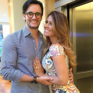 Solange Frazão e o namorado, Pyero (Foto: Reprodução/Instagram)