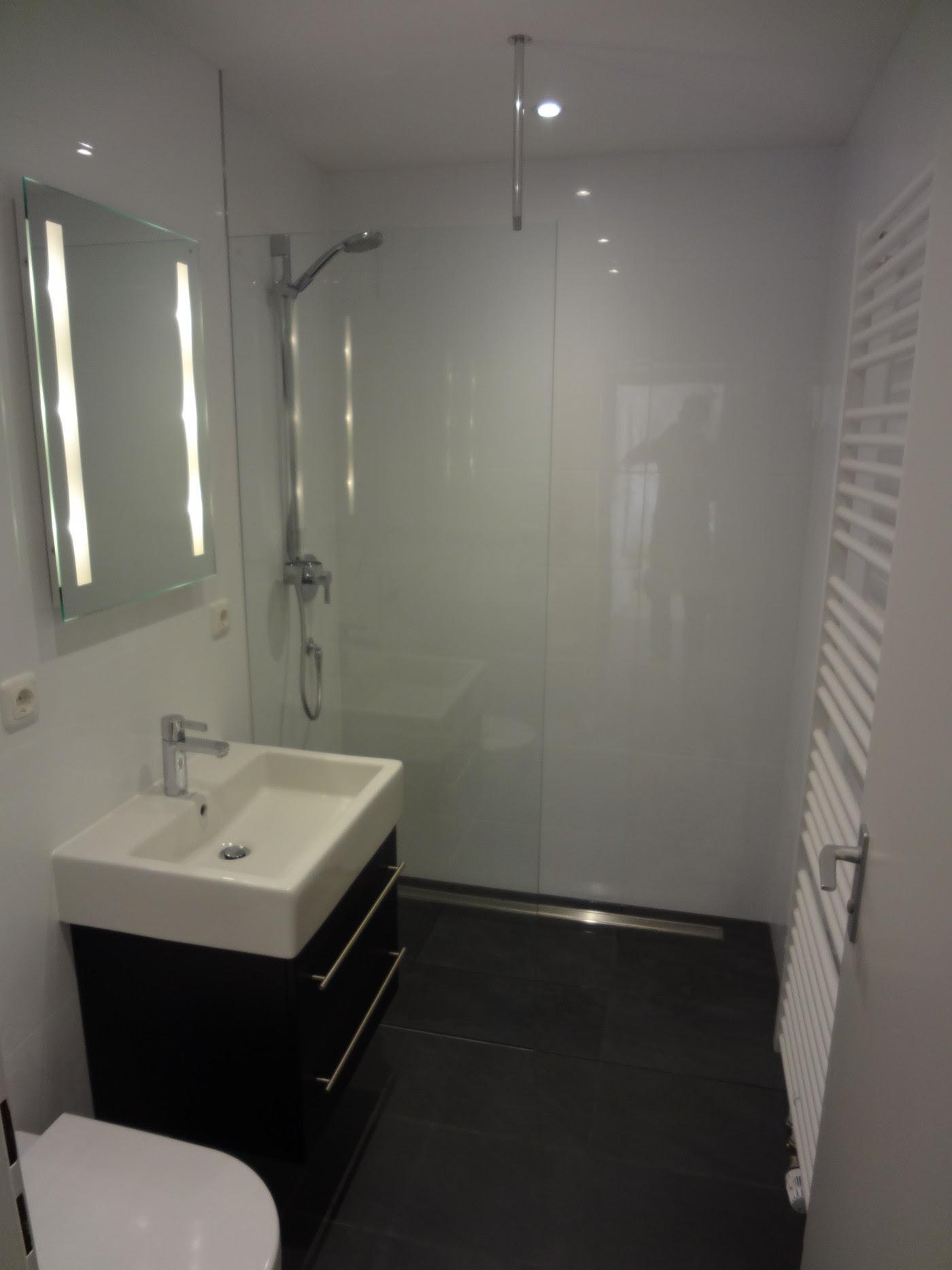 kleines bad mit dusche planen | badezimmer kreativ gestalten