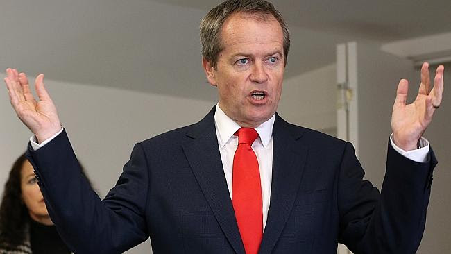 Opposition Leader Bill Shorten says the tax proposal promoted fairness and integrity. PIC