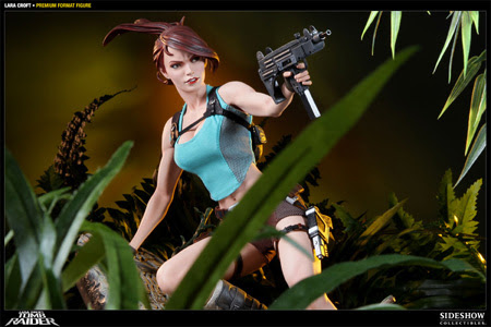 Lara Croft premium format figure from Sideshow Collectibles