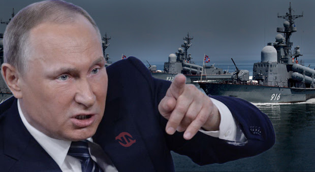 putin has deployed russian warships to syria to face us navy