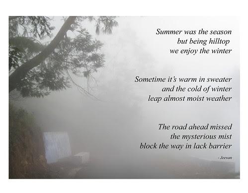Mist Haiku
