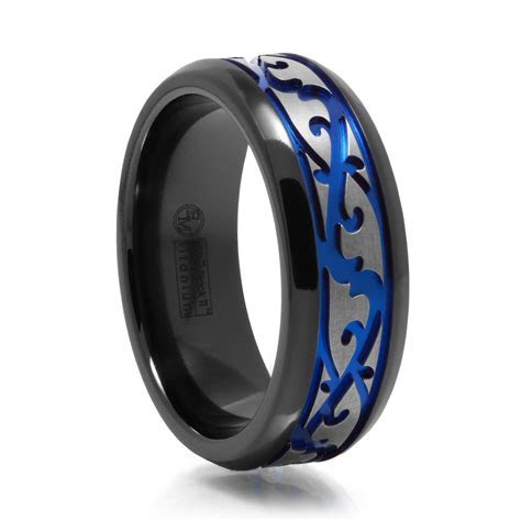 15 Inspirations of Thin Blue Line Wedding Bands