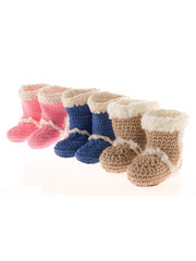 Baby Bootie Boots Pattern Set
