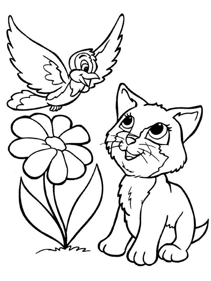Dibujo De Gatos Para Imprimir Y Colorear 1 De 12 Mildibujoscom