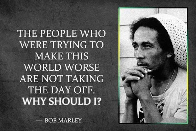 19 Bob Marley Quotes About Love \u0026 Happiness  Wealthy Gorilla