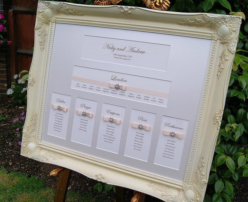 Wedding Table Plans Wedding Place Cards Sussexlondonsurreykent