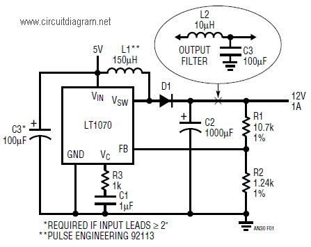 12vdc To 9vdc Converter Circuit Circuit Diagram Images