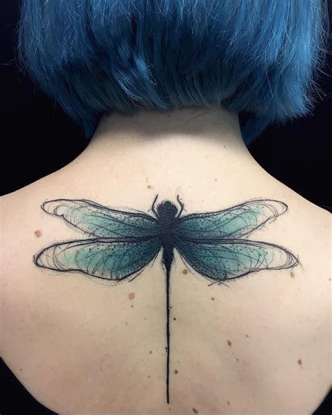 dragonfly tattoos set heart aflutter