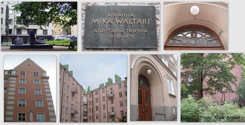Mika Waltari asui Töölössä by Anna Amnell