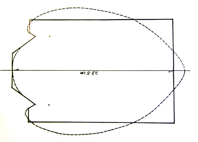 Pattern for necklace hanger