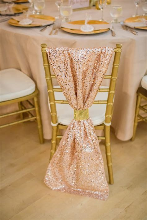 Rose Gold Wedding Reception Decor   Sonal J. Shah Event