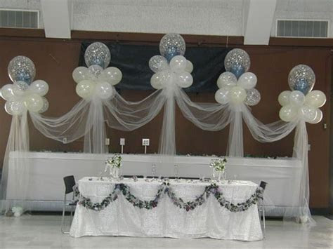 Stage Decor 006   Balloon Decor   Wedding decorations