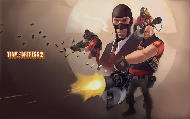 TF2background | One of the login screens for Team Fortress ...