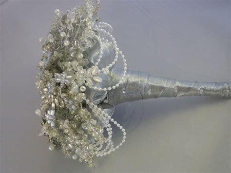 Great Gatsby Wedding Bouquet, 1920's Style Wedding Bouquet