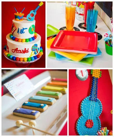 Kara's Party Ideas Baby Jam Musical Themed 1st Birthday Party